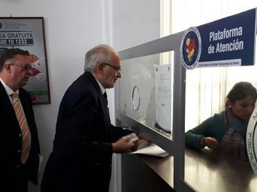 Caso Quiborax: rechazan demanda de Mesa contra procurador y ministros