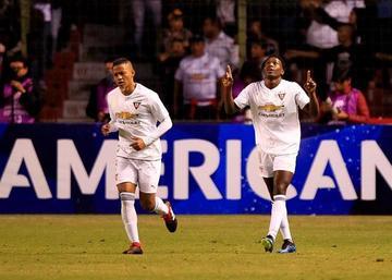 Liga de Quito gana en el partido de ida a Deportivo Cali