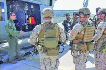 Evo: ejercicios militares de Chile y EE.UU. son una amenaza contra la paz