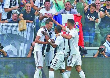Juventus gana a Lazio en la Serie A italiana