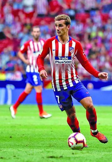 Atlético de Madrid logra su primera victoria en la Liga
