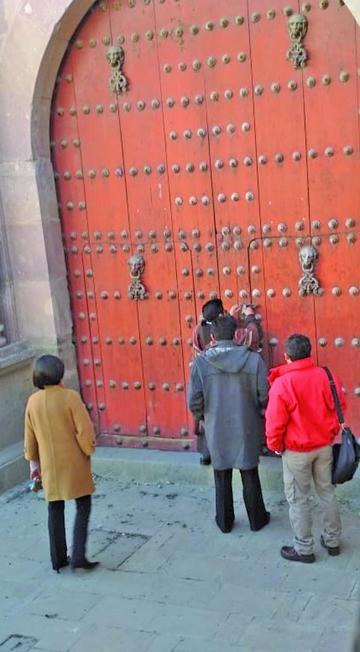 Perito evalúa daños en el templo San Agustín y viabilizarán obras