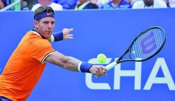 Del Potro avanza de ronda del US Open