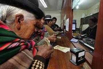Se desembolsó $ 3.478 millones para el pago de la Renta Dignidad