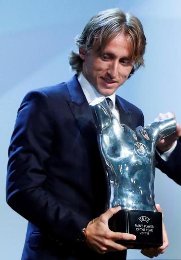 Modric se corona como el mejor jugador