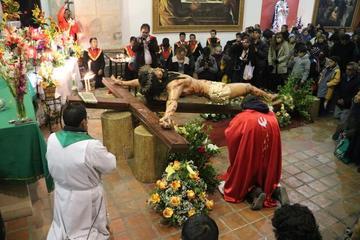 El Cristo ya está en San Bernardo