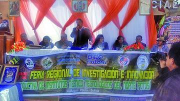 Institutos tecnológicos del Norte de Potosí presentan sus innovaciones
