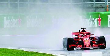 Vettel manda en ensayos del GP de Italia