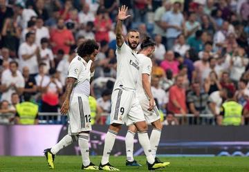 Real Madrid golea a Leganés