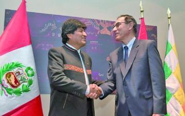 Bolivia y Perú hablan hoy sobre el tren bioceánico y el lago Titicaca