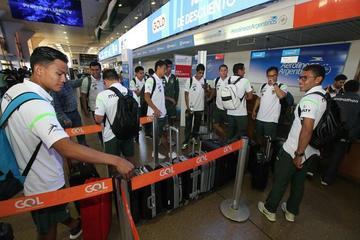 La Verde lleva 25 jugadores al duelo con Arabia Saudita
