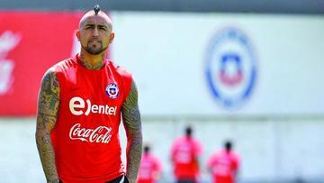 Vidal afirma que se siente bien, pero ve difícil jugar 90 minutos en Japón