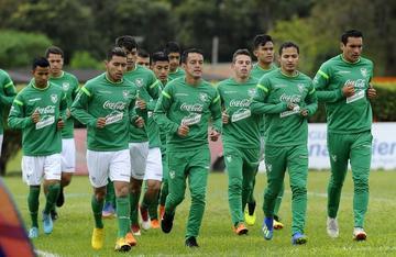 La Verde cumple su primer entrenamiento en Arabia Saudita