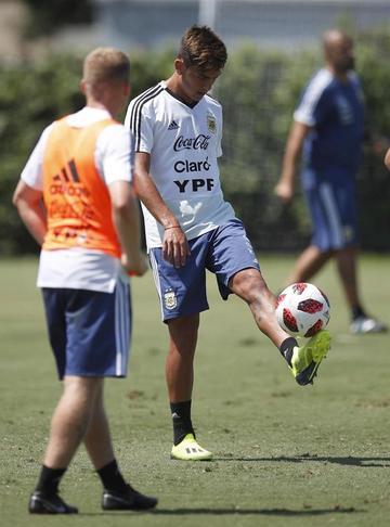 Una Argentina renovada juega ante Guatemala