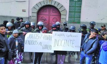 Audiencia del líder de Adepcoca es hoy en la cárcel de San Pedro