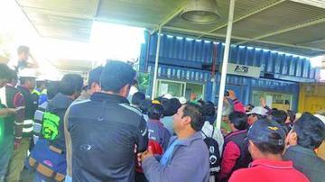 Un cambio de sistema en el puerto de Arica provoca caos