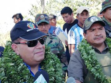 Ministro Romero afirma que en La Asunta operan grupos irregulares