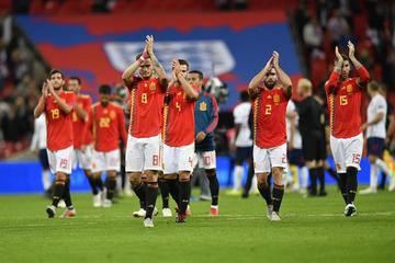 España vence a Inglaterra en la Liga de Naciones