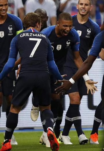 Francia vence a Holanda en la Liga de Naciones