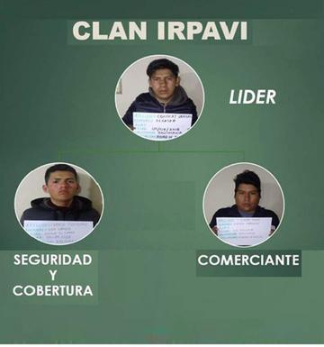 Diprove: cae el clan Irpavi por hurto de motocicletas