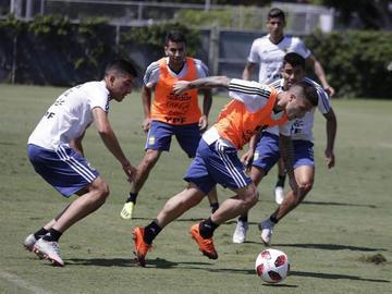 Argentina y Colombia se miden en Nueva Jersey