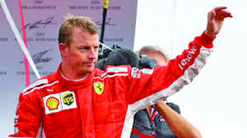 Raikkonen dejará Ferrari a fin de año