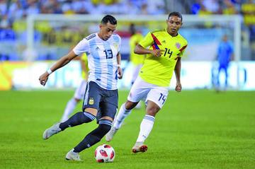 """Argentina y Colombia no se hacen daño en el estadio """"MetLife"""", de Nueva Jersey"""