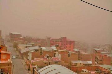 Senamhi emite alerta naranja por fuertes vientos en Potosí