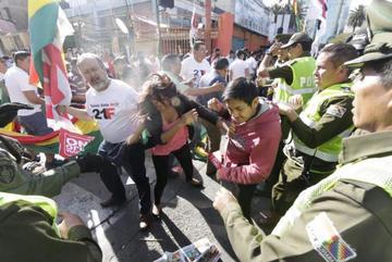 Nuevos incidentes empañan los festejos de Cochabamba