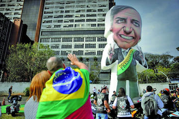 Jair Bolsonaro lidera encuestas electorales para presidir Brasil