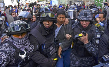 Tribunal rechaza la libertad del dirigente Franklin Gutiérrez