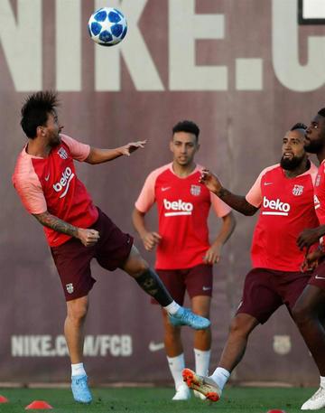 Barza busca la redención en la Liga de Campeones