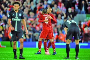 Liverpool impone su jerarquía ante Paris Saint Germain