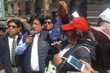 Fejuve masista advierte con cercar Alcaldía de La Paz y tomar subalcaldías