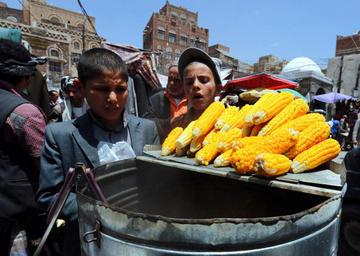Alertan riesgo de hambre para 5 millones de niños en Yemen