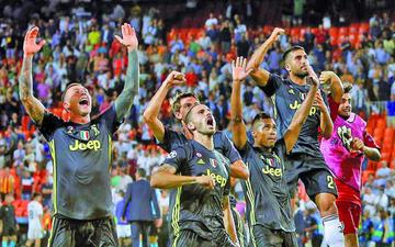 Juventus visitará al recién ascendido Frosinone