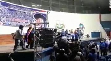 Congreso del MAS termina con agresiones en Tarija
