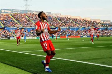 "Atlético de Madrid gana a Getafe con dos goles de Lemar en el ""Coliseum Alfonso Pérez"""