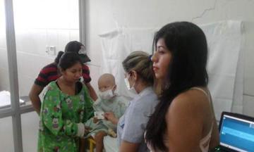 Santa Cruz: ultiman detalles para llevar al niño Sebastián a Brasil