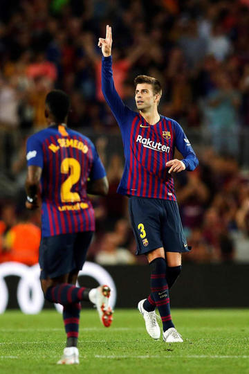 "Barcelona empata ante Girona en el ""Camp Nou"""
