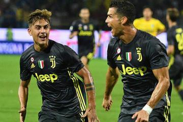 """Juventus vence a Frosinone en el estadio """"Benito Stirpe"""" por la Serie A italiana"""