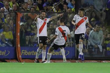River Plate gana a Boca Juniors
