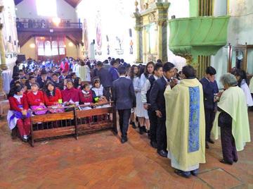 La juventud se consagra a Virgen de La Merced