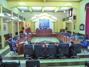 Asamblea aprueba convenio para una represa en Ckochas