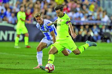 """Barcelona registra su primera derrota ante Leganés en el estadio """"Butarque"""""""