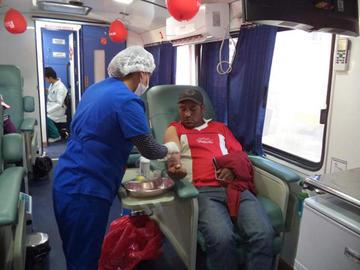 El Banco de Sangre capta dontantes voluntarios