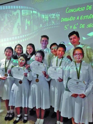 Alumnas potosinas logran primer puesto en video de seguridad