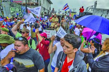 Gobierno y sindicatos alcanzan pacto preeliminar en Costa Rica