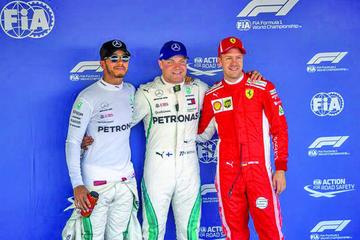"Bottas le arrebata la ""pole"" a Hamilton"