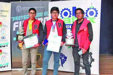 Un equipo potosino irá a competencia continental de robótica en México